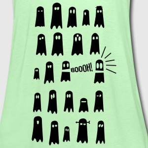 Geister Gespenster Glow in the Dark Süss - Frauen Tank Top von Bella