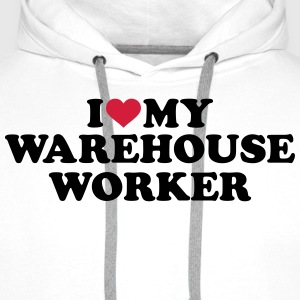 Warehouse worker T-Shirts - Männer Premium Hoodie