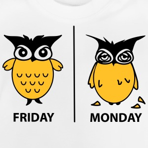 friday and monday Tröjor - Baby-T-shirt