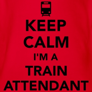 Train attendant T-Shirts - Baby Bio-Kurzarm-Body