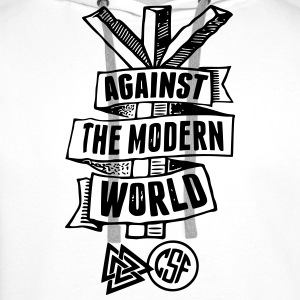 Against The Modern World Sportbekleidung - Männer Premium Hoodie