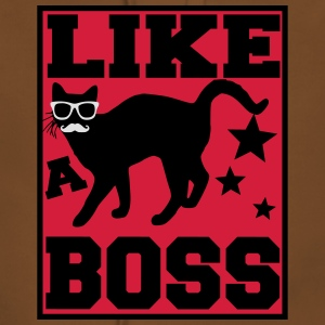 like a boss Tee shirts - Sweat-shirt à capuche Premium pour femmes
