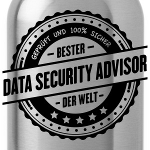 Beste Data-Security Advisor der Welt - Trinkflasche