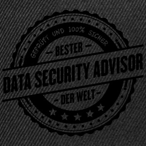Beste Data-Security Advisor der Welt - Snapback Cap