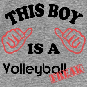 This boy is a VolleyballFREAK - Männer Premium T-Shirt