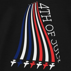 Jets with Stars and Stripes Sudaderas - Camiseta premium hombre