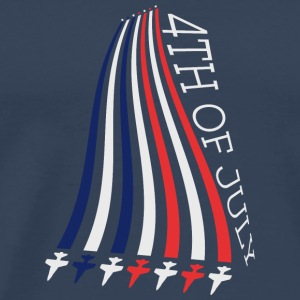 Jets with Stars and Stripes Shirts met lange mouwen - Mannen Premium T-shirt