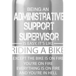 Administrative Support Supervisor T-Shirts - Water Bottle
