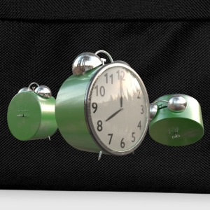 Green Worn Alarm Clock - Kids' Backpack