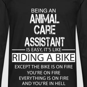 Animal Care Assistant T-Shirts - Men's Premium Longsleeve Shirt