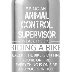 Animal Control Supervisor T-Shirts - Water Bottle