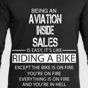 Aviation Inside Sales T-Shirts - Men's Sweatshirt by Stanley & Stella