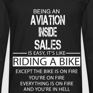 Aviation Inside Sales T-Shirts - Men's Premium Longsleeve Shirt