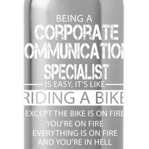 Corporate Communications Specialist T-Shirts - Water Bottle