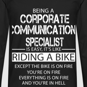 Corporate Communications Specialist T-Shirts - Men's Premium Longsleeve Shirt