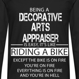 Decorative Arts Appraiser T-Shirts - Men's Premium Longsleeve Shirt