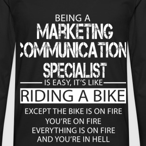 Marketing Communications Specialist T-Shirts - Men's Premium Longsleeve Shirt