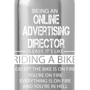 Online Advertising Director T-Shirts - Water Bottle