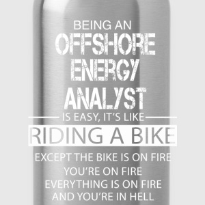 Offshore Energy Analyst T-Shirts - Water Bottle