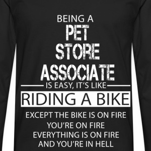Pet Store Associate T-Shirts - Men's Premium Longsleeve Shirt