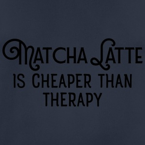 matcha latte is cheaper than therapy Pullover & Ho - Men's Breathable T-Shirt