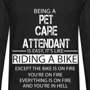 Pet Care Attendant T-Shirts - Men's Premium Longsleeve Shirt