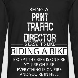 Print Traffic Director T-Shirts - Men's Premium Longsleeve Shirt
