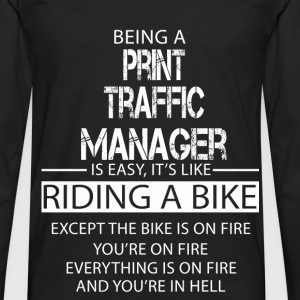 Print Traffic Manager T-Shirts - Men's Premium Longsleeve Shirt