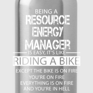 Resource Energy Manager T-Shirts - Water Bottle