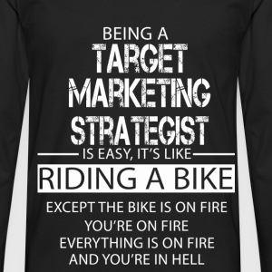 Target Marketing Strategist T-Shirts - Men's Premium Longsleeve Shirt