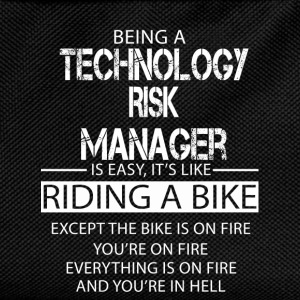 Technology Risk Manager T-Shirts - Kids' Backpack