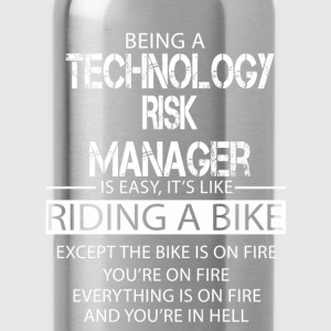 Technology Risk Manager T-Shirts - Water Bottle