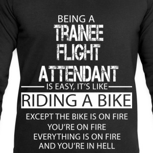 Trainee Flight Attendant T-Shirts - Men's Sweatshirt by Stanley & Stella