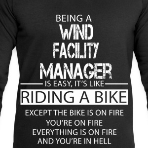 Wind Facility Manager T-Shirts - Men's Sweatshirt by Stanley & Stella