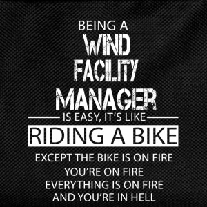 Wind Facility Manager T-Shirts - Kids' Backpack