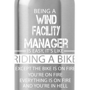 Wind Facility Manager T-Shirts - Water Bottle