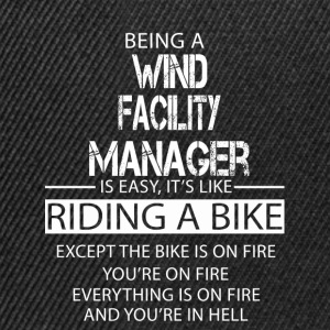Wind Facility Manager T-Shirts - Snapback Cap