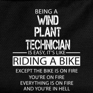 Wind Plant Technician T-Shirts - Kids' Backpack