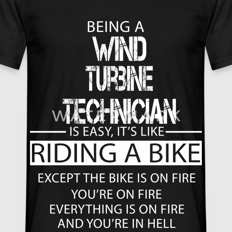 Wind Turbine Technician T-Shirts - Men's T-Shirt