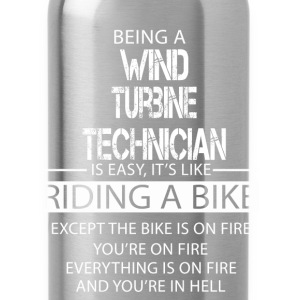 Wind Turbine Technician T-Shirts - Water Bottle