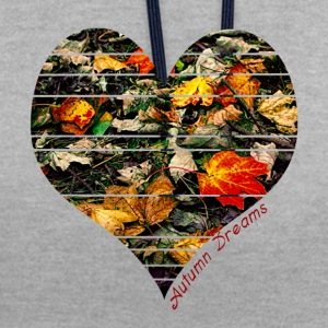Autumn Dreams t-shirt - Contrast Colour Hoodie