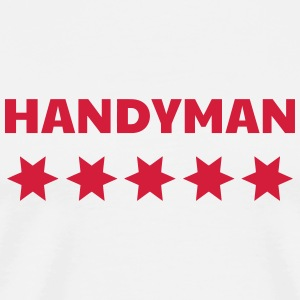 DIY - Do it yourself - Bricoalge - Handyman - Dad  Aprons - Men's Premium T-Shirt