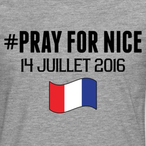 Pray For Nice T-Shirts - Men's Premium Longsleeve Shirt