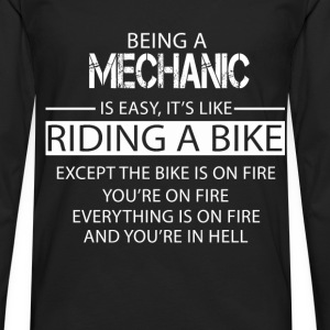 Mechanic T-Shirts - Men's Premium Longsleeve Shirt