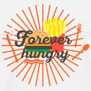 Forever hungry - Männer Premium T-Shirt