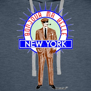 Bonjour ma belle New York by Francisco Evans ™ - Männer Premium Hoodie