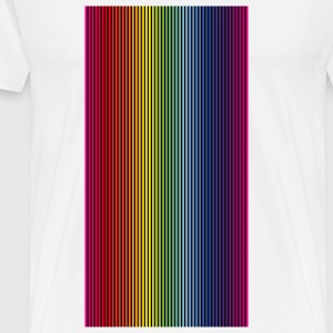 Rainbow Colors Gradient (PNG) Mugs & Drinkware - Men's Premium T-Shirt