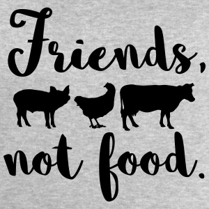 Friends, not food. Vegan - Männer Sweatshirt von Stanley & Stella