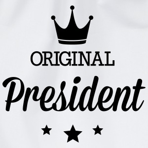 Original three star deluxe President Shirts - Drawstring Bag