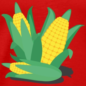 Corn on the cob, green and yellow Tops - Men's Premium T-Shirt